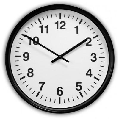Часы вторичные стрелочные ЧВС 400 МЧ